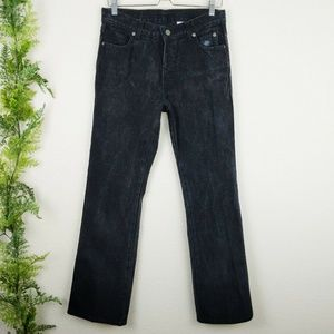 🌳 Harley Davidson Bootcut Jeans Black High Rise 8